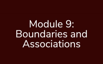Module 9: Boundaries and Associations